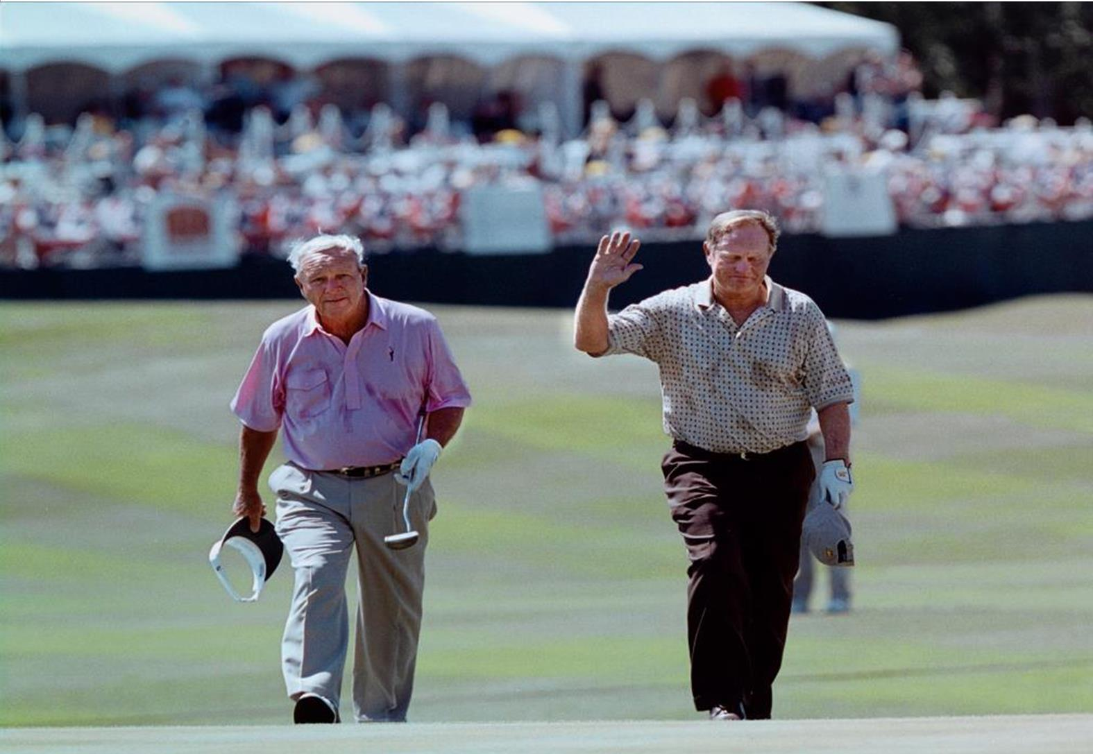 Arnold Palmer and Jack Nicklaus at The Reserve