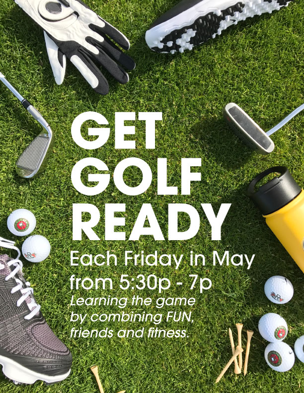 2017 Get Golf Ready Promo Poster Front
