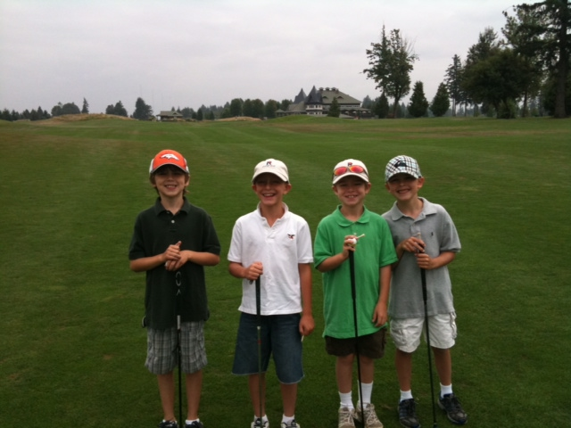 Brady Junior Golf 2